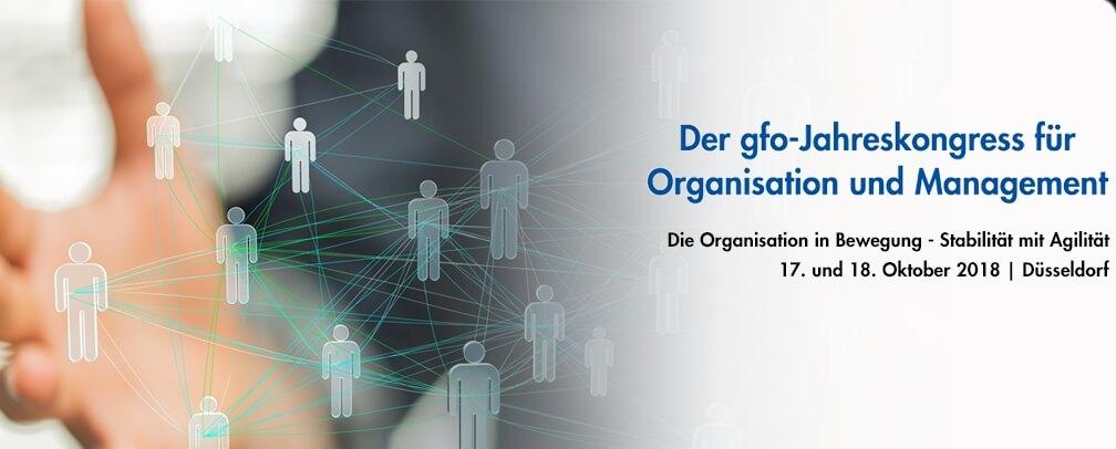 """""""Organisation in Bewegung"""" – Die gfo lädt zum Jahreskongress ein"""