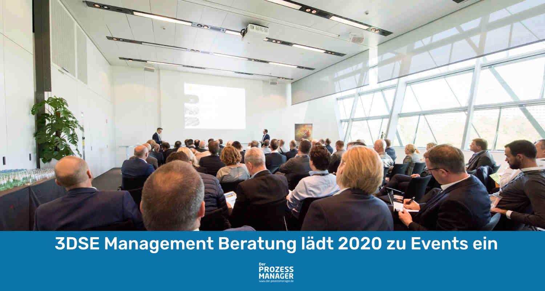 3DSE – F&E Leitkonferenz und weitere Formate in 2020