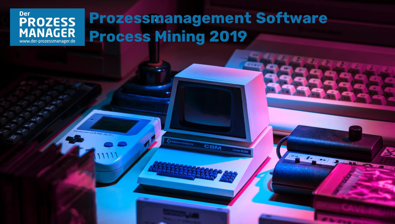 Process Mining Software 2019 – Übersicht und Vergleich der Anbieter.
