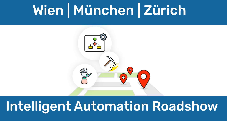 Die Intelligent Automation Roadshow zeigt Synergieeffekte unterschiedlicher Disziplinen des BPM