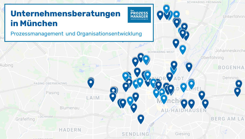 Berater Radar 2020: Unternehmensberatungen in München