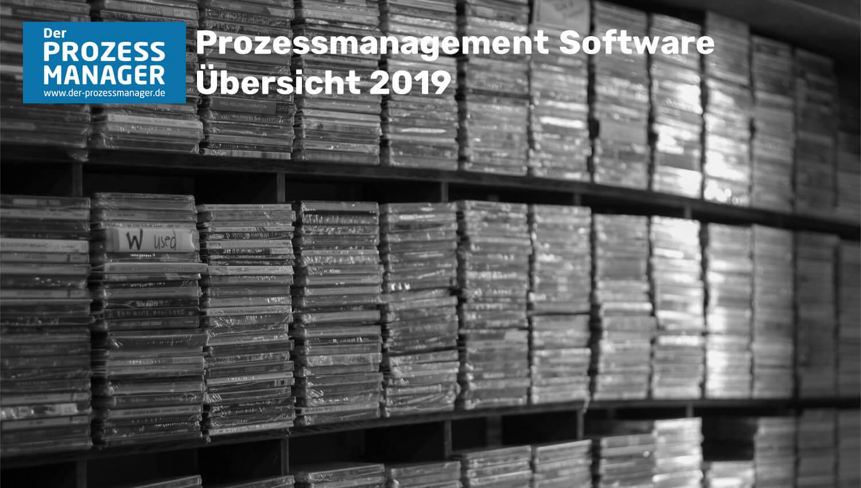 Prozessmanagement Software Übersicht 2019