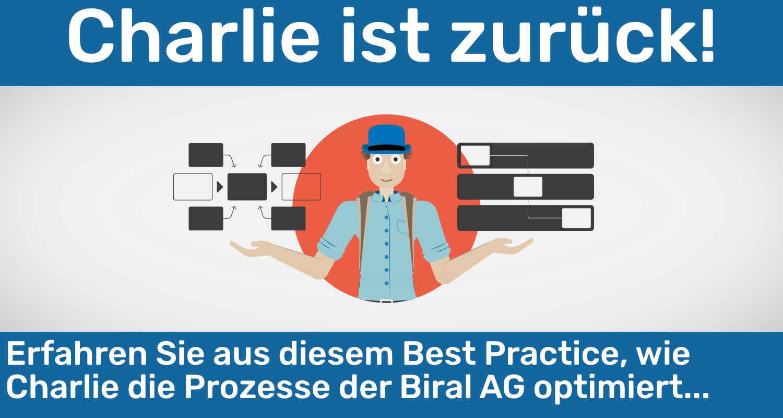 Wie das Projekt Charlie die Arbeitsabläufe der Biral AG verbessert