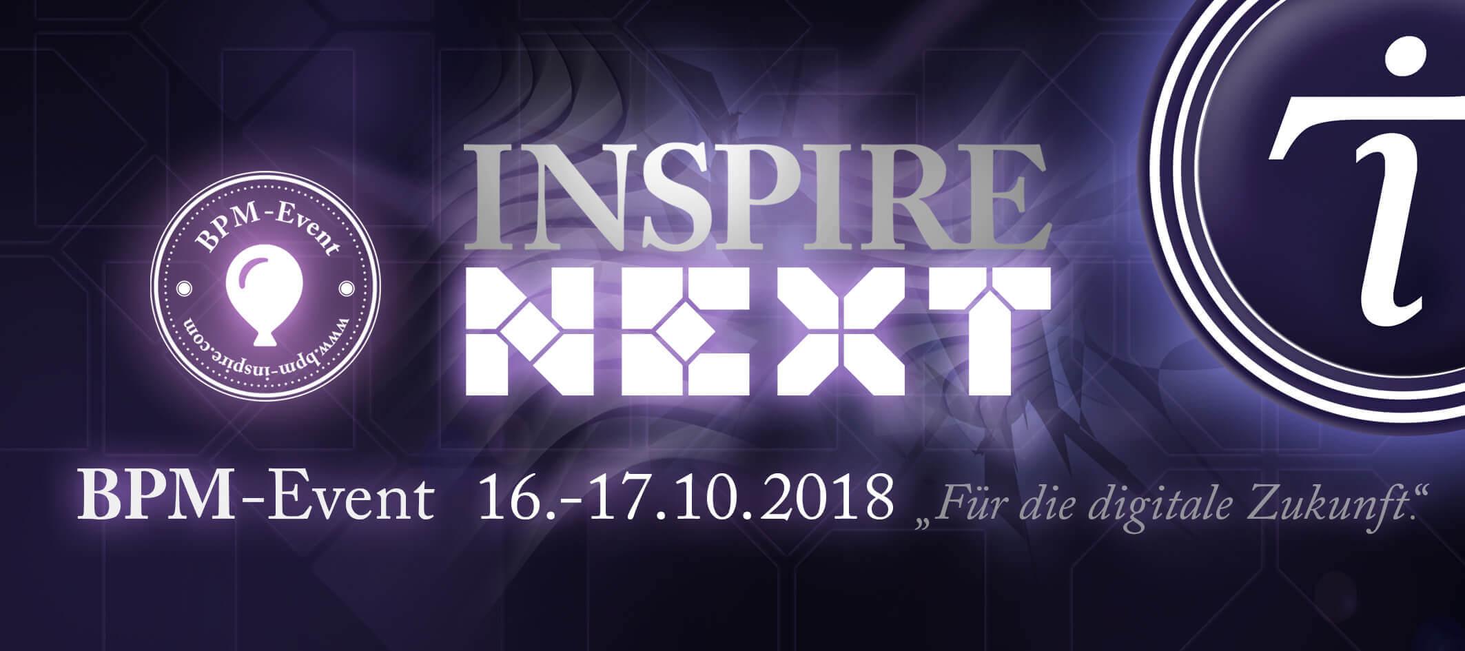 DER PROZESSMANAGER unterstützt die INSPIRE NEXT