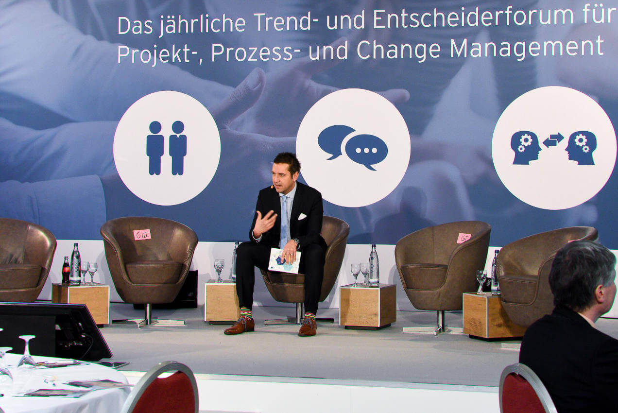 Digitale Transformation: PM-Tage mit Christoph Keese in München