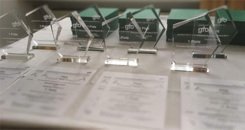 Process Solutions Award 2020: Jetzt Bewerbung einreichen!