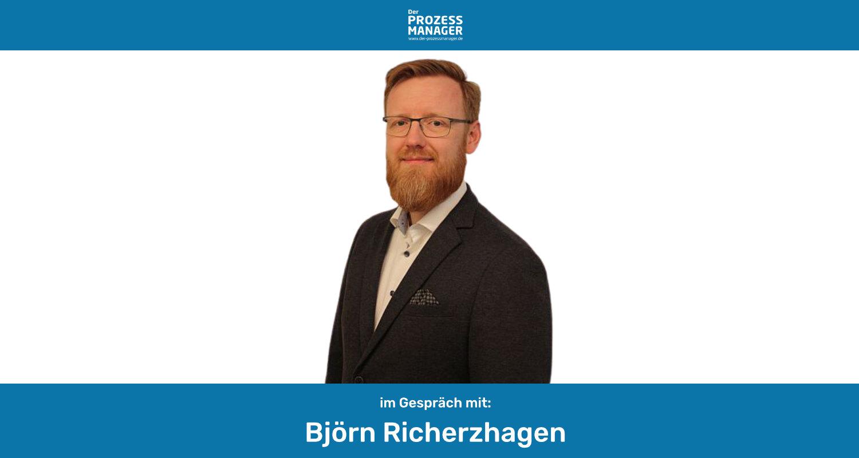An der Schnittstelle zwischen Fachbereichen und Technik – Interview mit Björn Richerzhagen