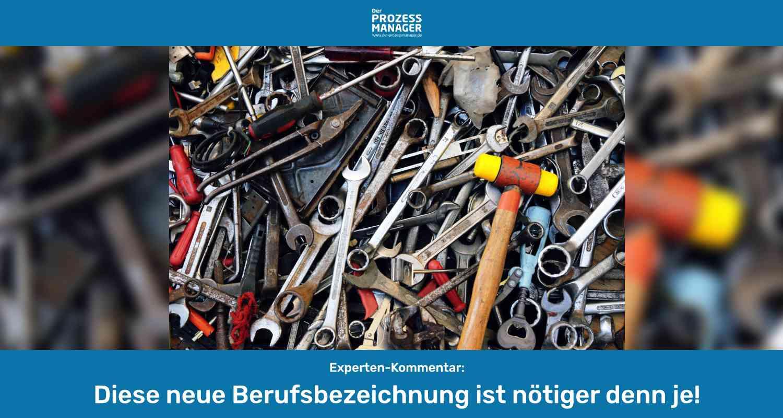 Definition Workflow-Analyst: Die Entstehung einer neuen Berufsbezeichnung!