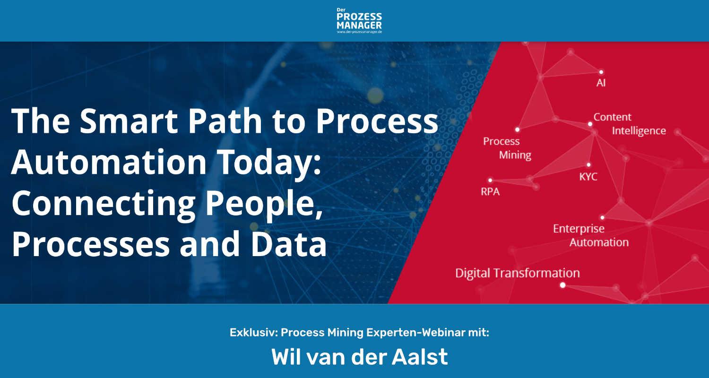 Für Kurzentschlossene: Process Mining mit Wil van der Aalst