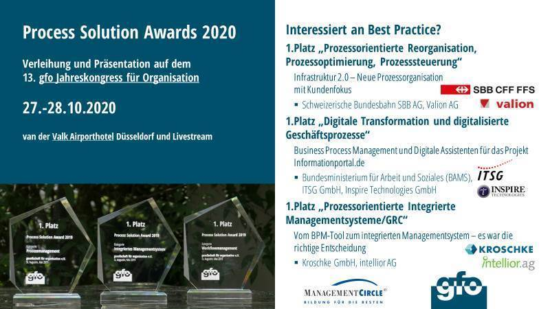 Process Solution Award 2020: And the winner is…