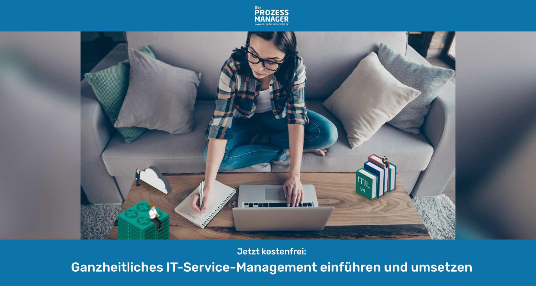 Kostenfreies Webinar – Ganzheitliches IT-Service-Management