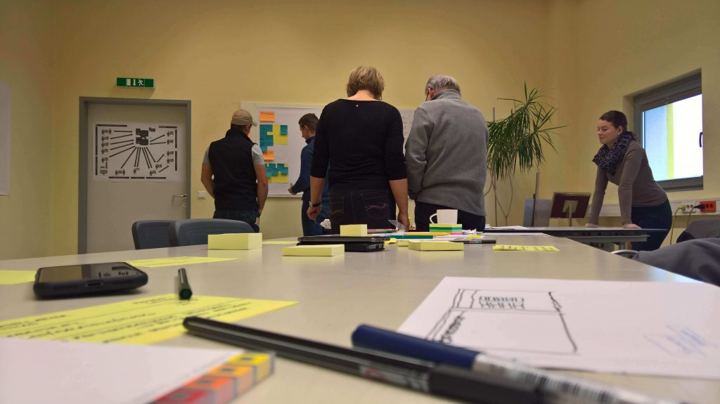 "Foto: Workshop ""Papierlose Baustelle"""
