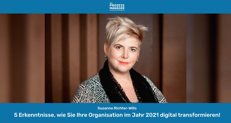 Digitale Transformation neu gedacht im Jahr 2021
