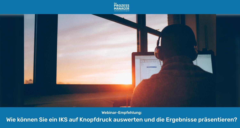 Prozessorientiertes Internes Kontrollsystem (IKS): Erfassung und Abbildung