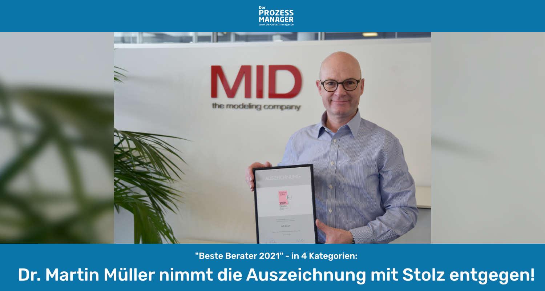 IT-Consultants der MID GmbH überzeugen weiter mit Bestleistung