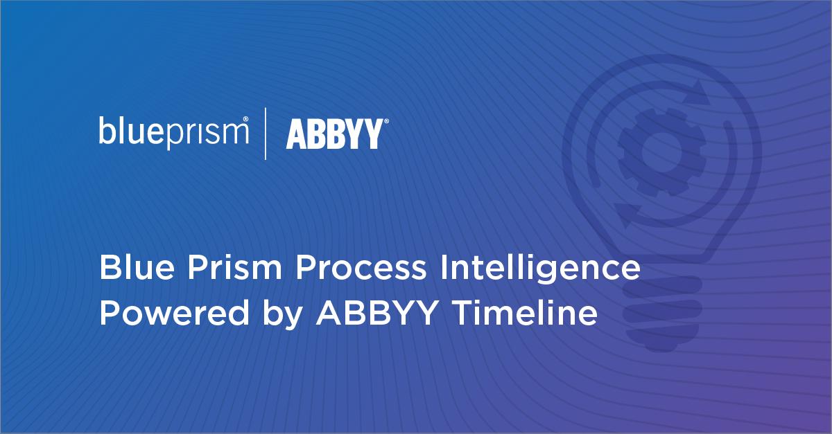 Blue Prism stellt preisgekrönte Process Intelligence zur Optimierung der Automatisierungsleistung vor